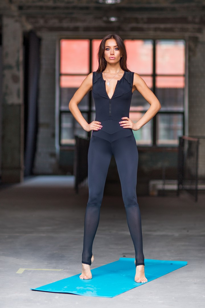 Комбинезон Yoga Total Black