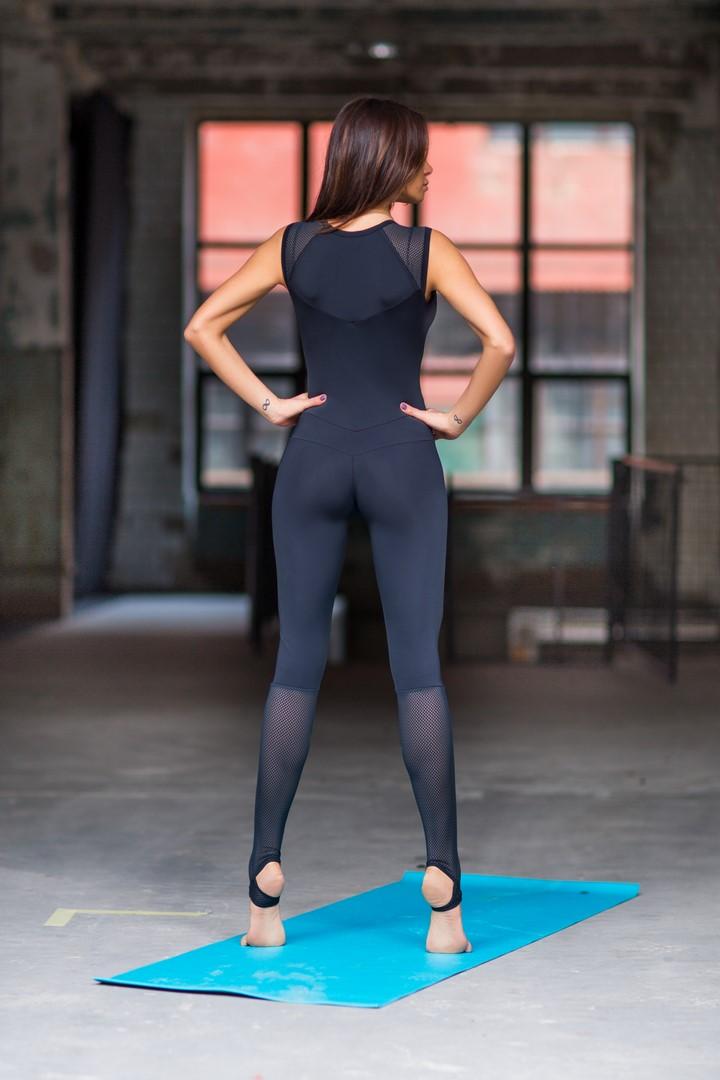 Женский комбинезон Yoga Total Black