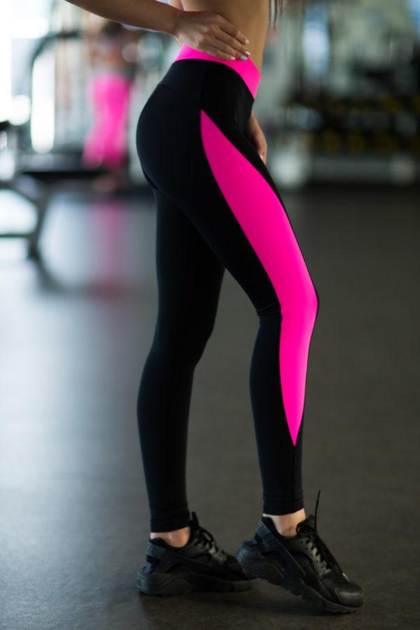 спортивные леггинсы Basic Pink