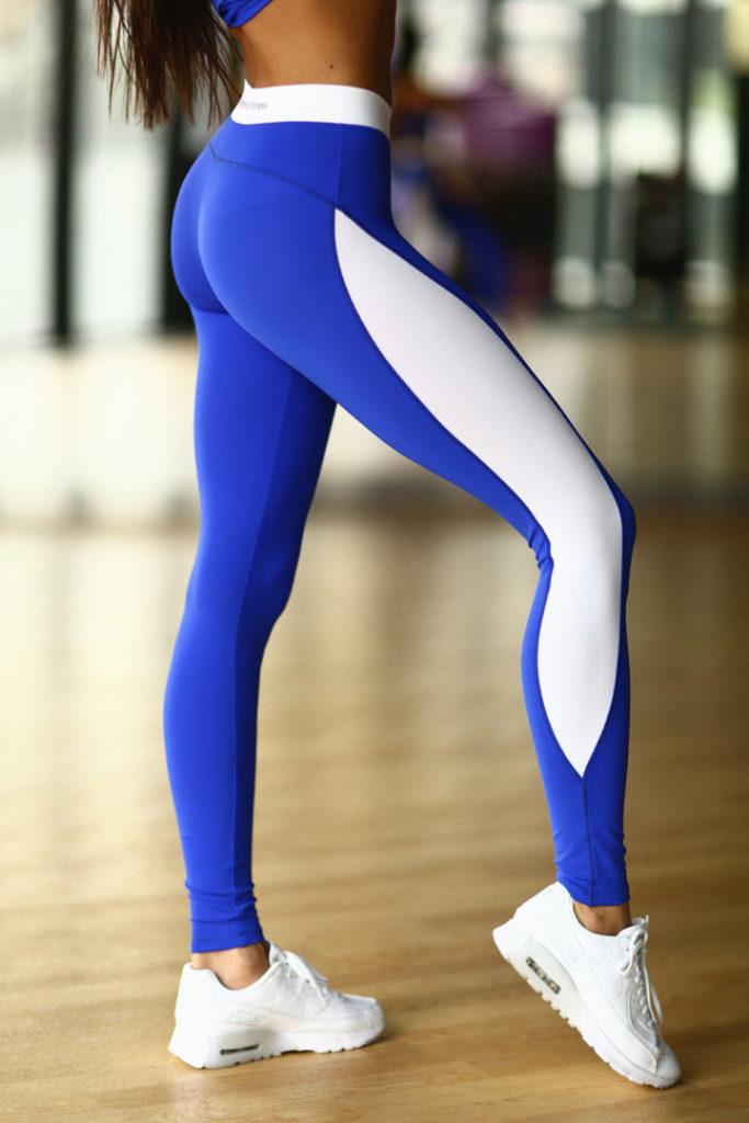 Спортивные лосины Basic Blue