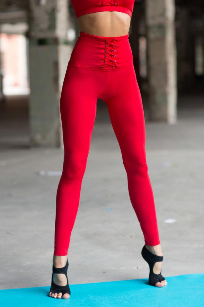 Спортивные леггинсы Red Corset