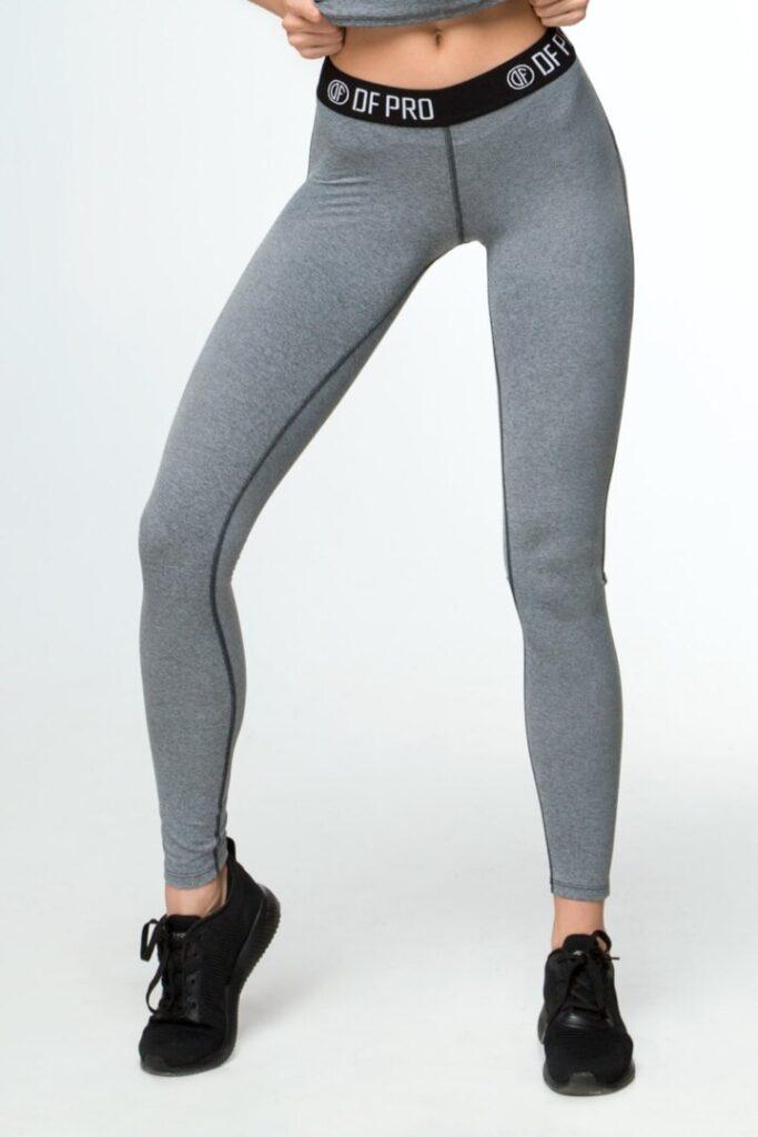 Спортивные леггинсы Pro Fitness Grey