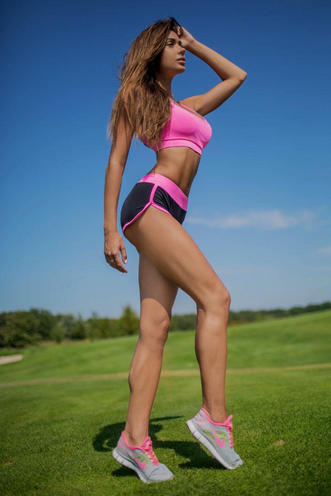 Спортивный женский комплект Basic Pink