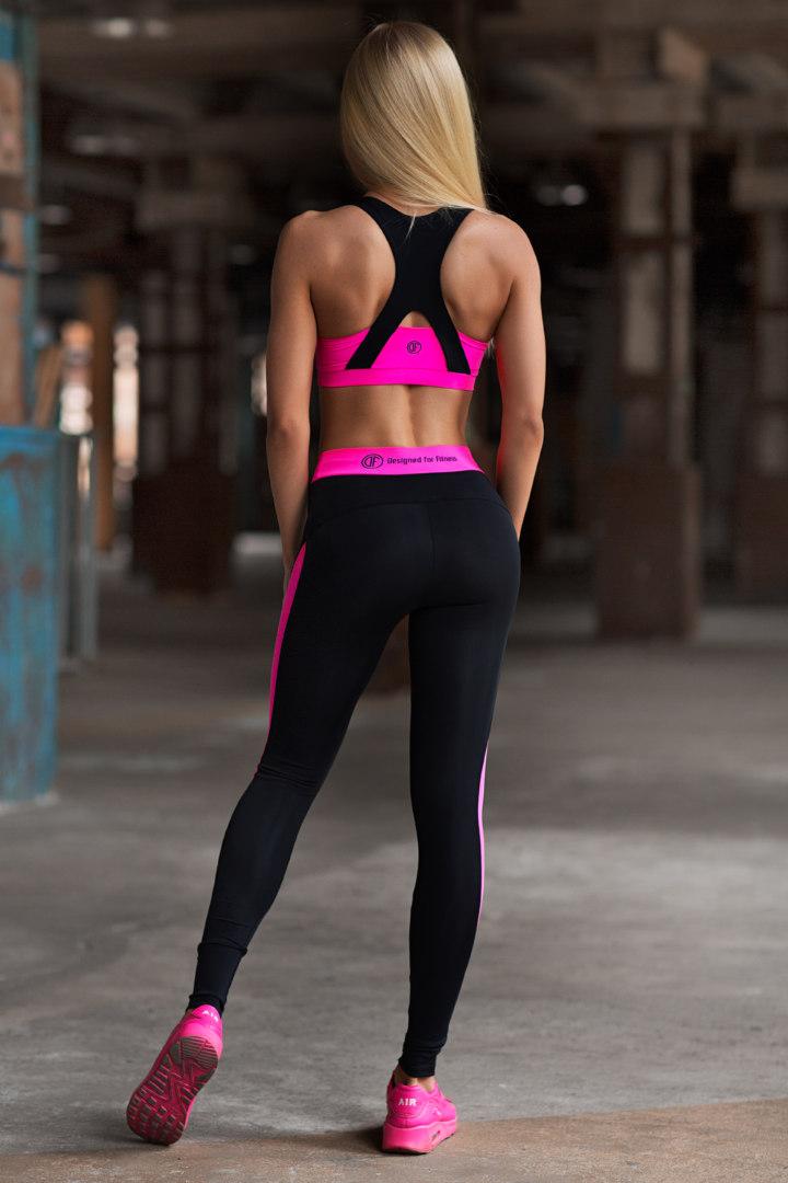 Женский спортивный комплект Basic Pink