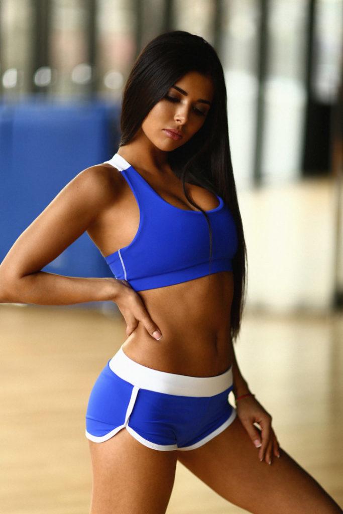 Спортивный женский комплект Basic Blue
