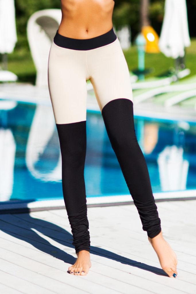 Женские лосины для йоги Yoga Tender Nude (Limited)