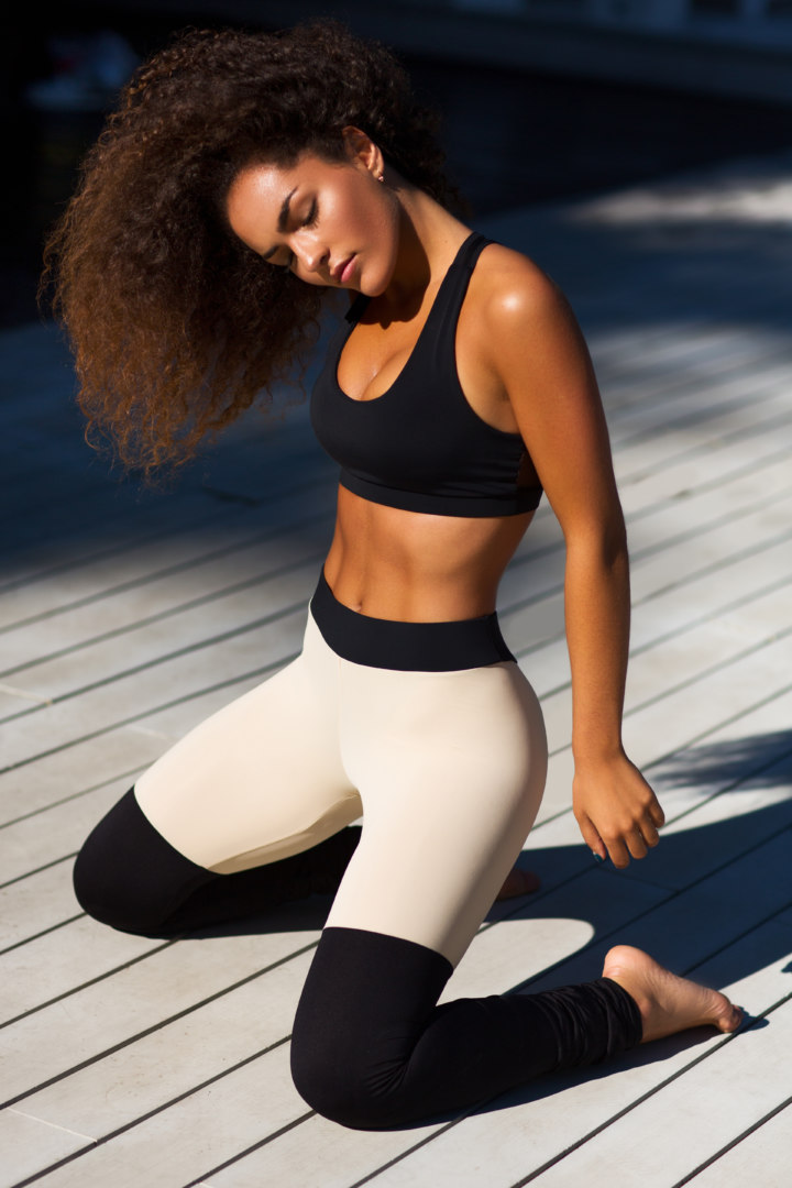 Спортивные лосины Yoga Tender Nude (Limited)