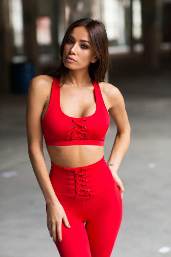 Комплект Red Corset