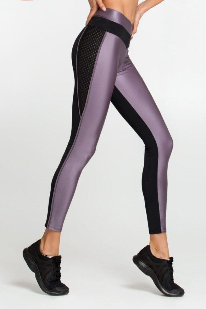 Женские спортивные леггинсы Disco Violet