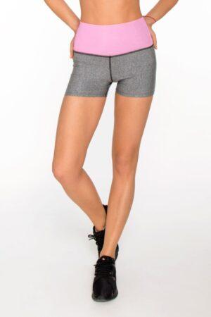 Розовые женские шорты