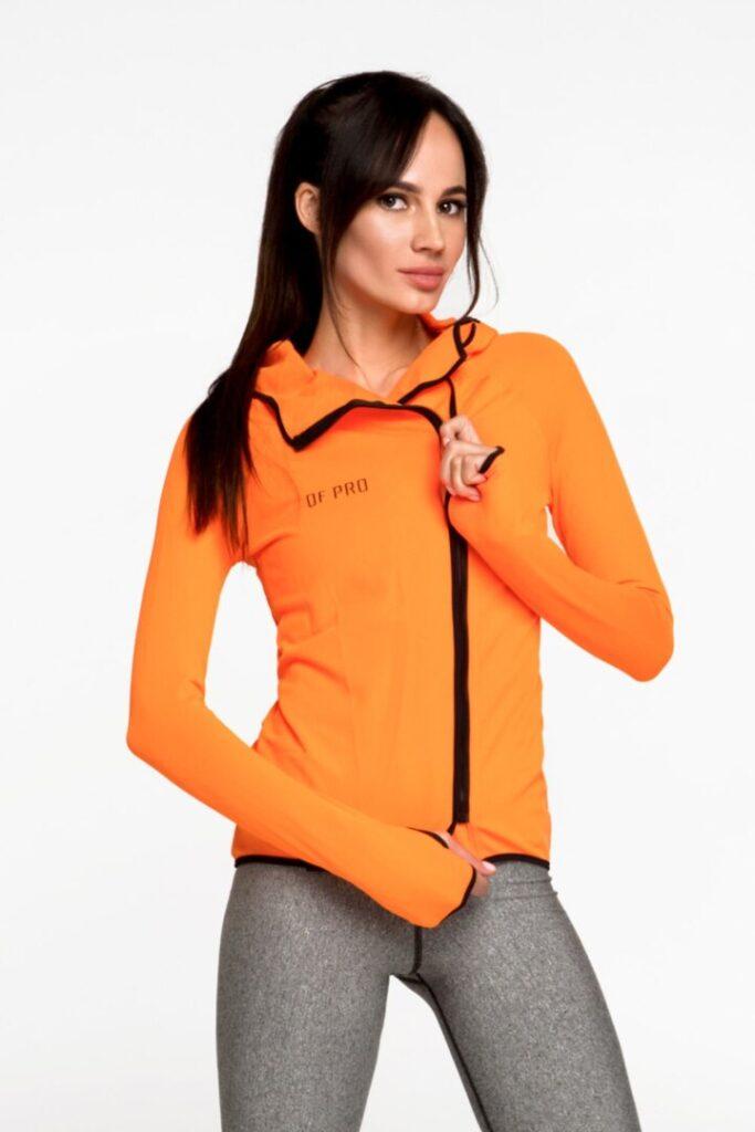 Женская курточка для бега, спорта и повседневной носки