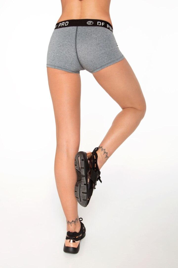 Спортивный женские шорты PRO Fitness Grey