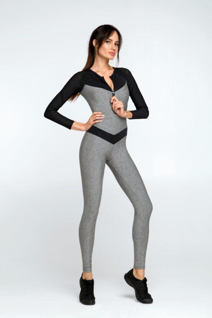 Женский спортивный комбинезон для фитнеса и йоги