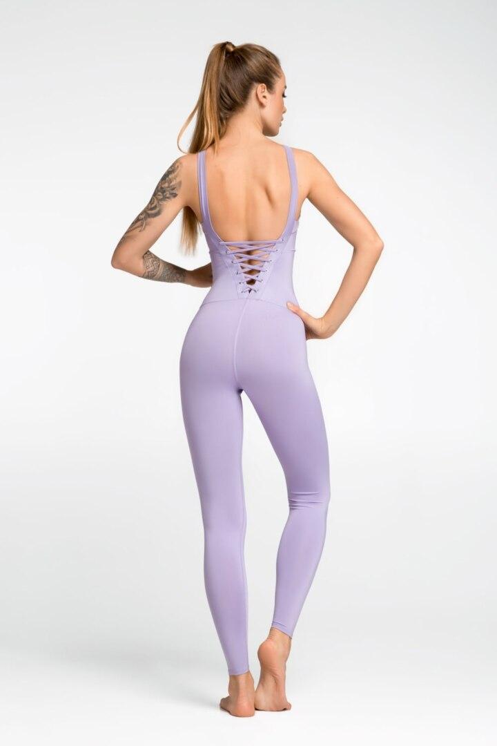 Женский спортивный комбинезон для йоги и фитнеса