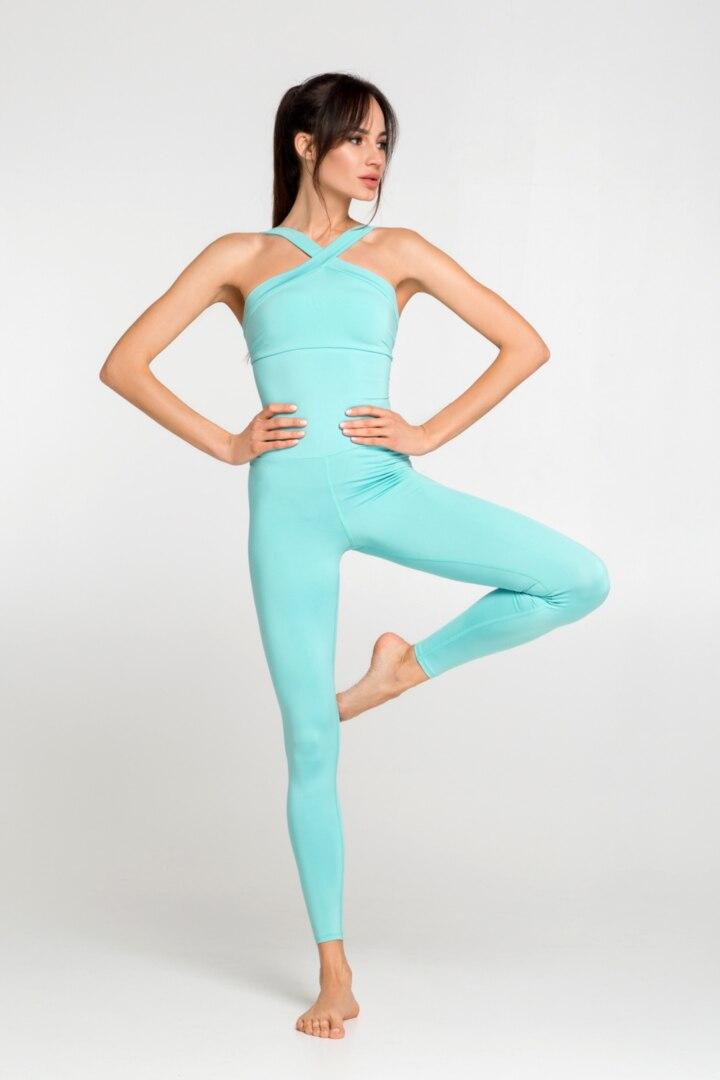 Женский комбинезон для йоги и фитнеса