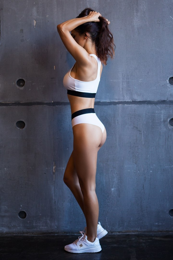 Спортивное белье Sport Shorts Basic Top White