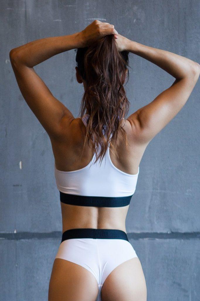 Спортивное белье лифчик Basic Top White