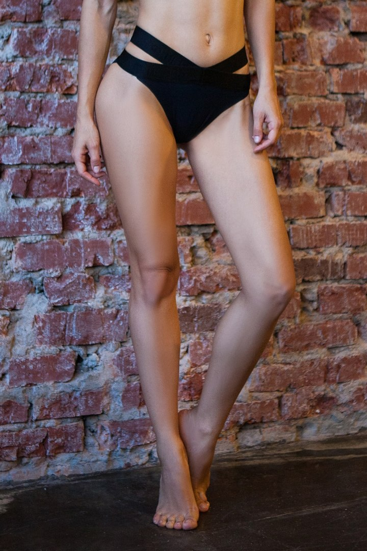 Спортивное белье стринги Sport Bikini Black