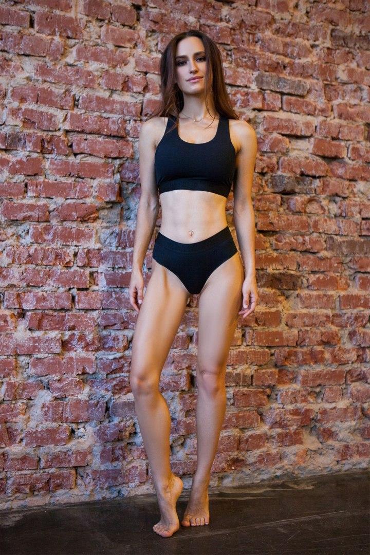Спортивное белье Sport Shorts Basic Top Black
