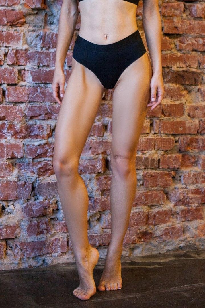 Спортивное белье стринги Sport Shorts Black