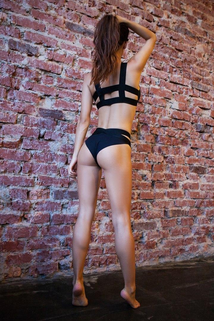 Спортивное белье Basic Bra Bikini Black