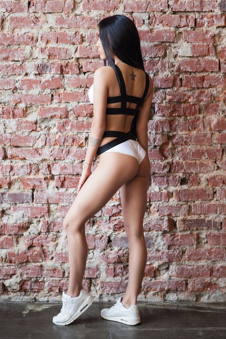 Спортивное белье Basic Bra Bikini White