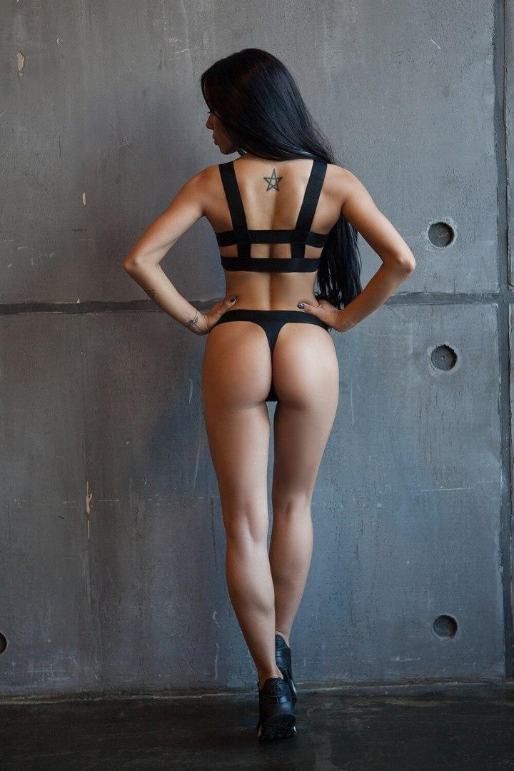 Спортивное белье Basic Bra String Black