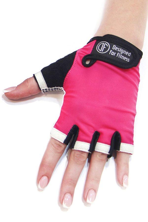 Перчатки для фитнеса White N Pink