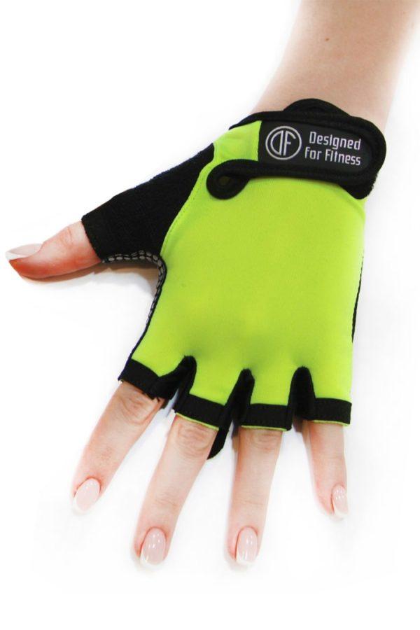 Перчатки для фитнеса Black N Lemon