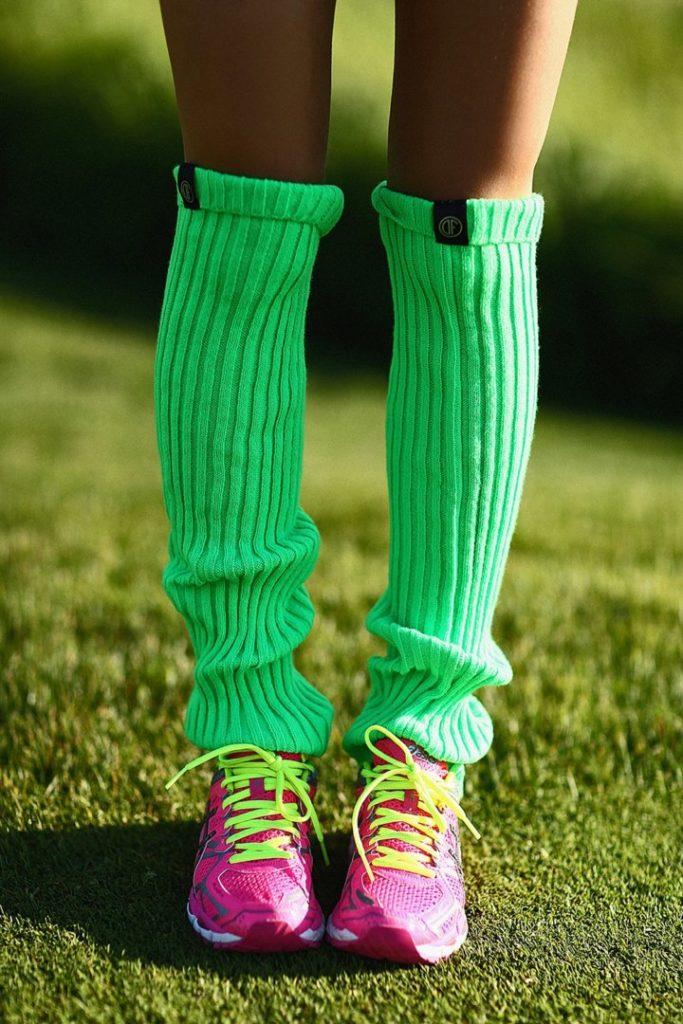 Спортивные гетры Green