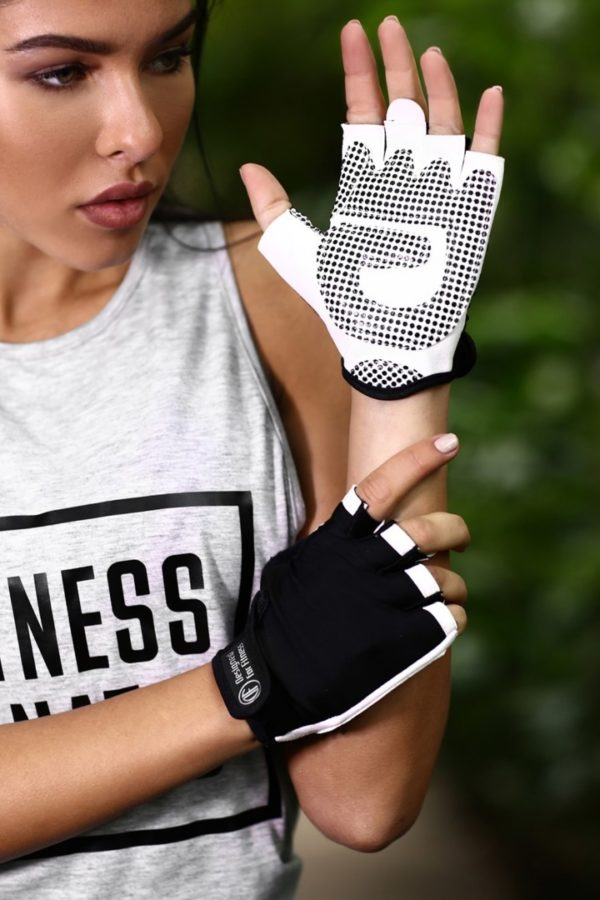 Перчатки для фитнеса Black N White