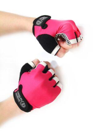 Перчатки для фитнеса White N Pink (20%)