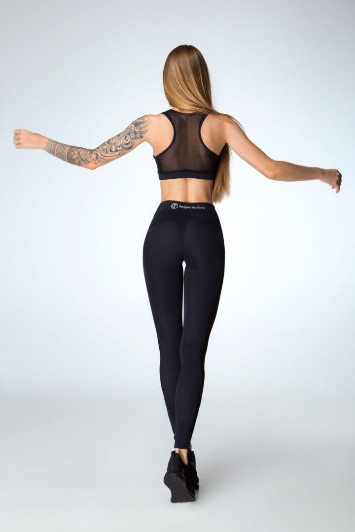 Женские спортивные леггинсы Classic Black