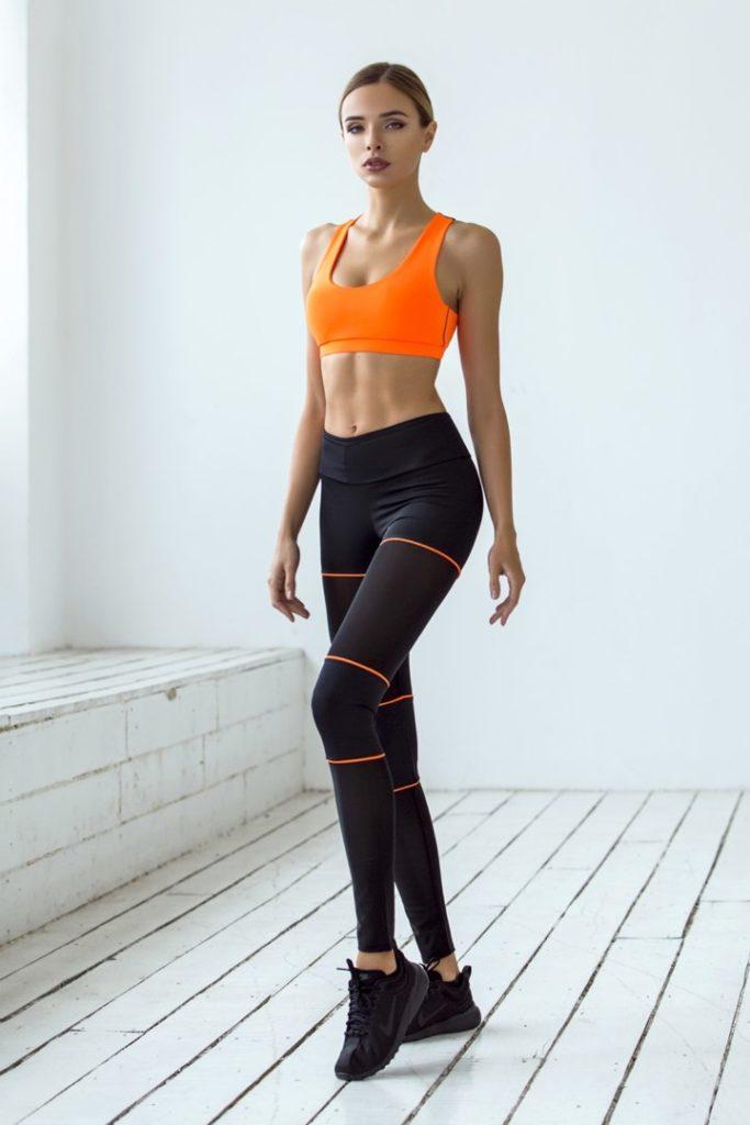 Спортивный комплект Sexy Shorts Orange