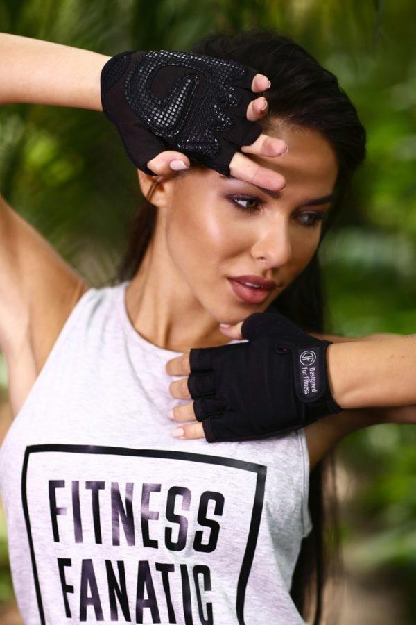 Перчатки для фитнеса Black