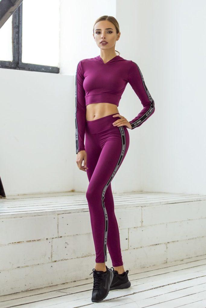 Комплект Vogue (Топ-худи и Леггинсы)