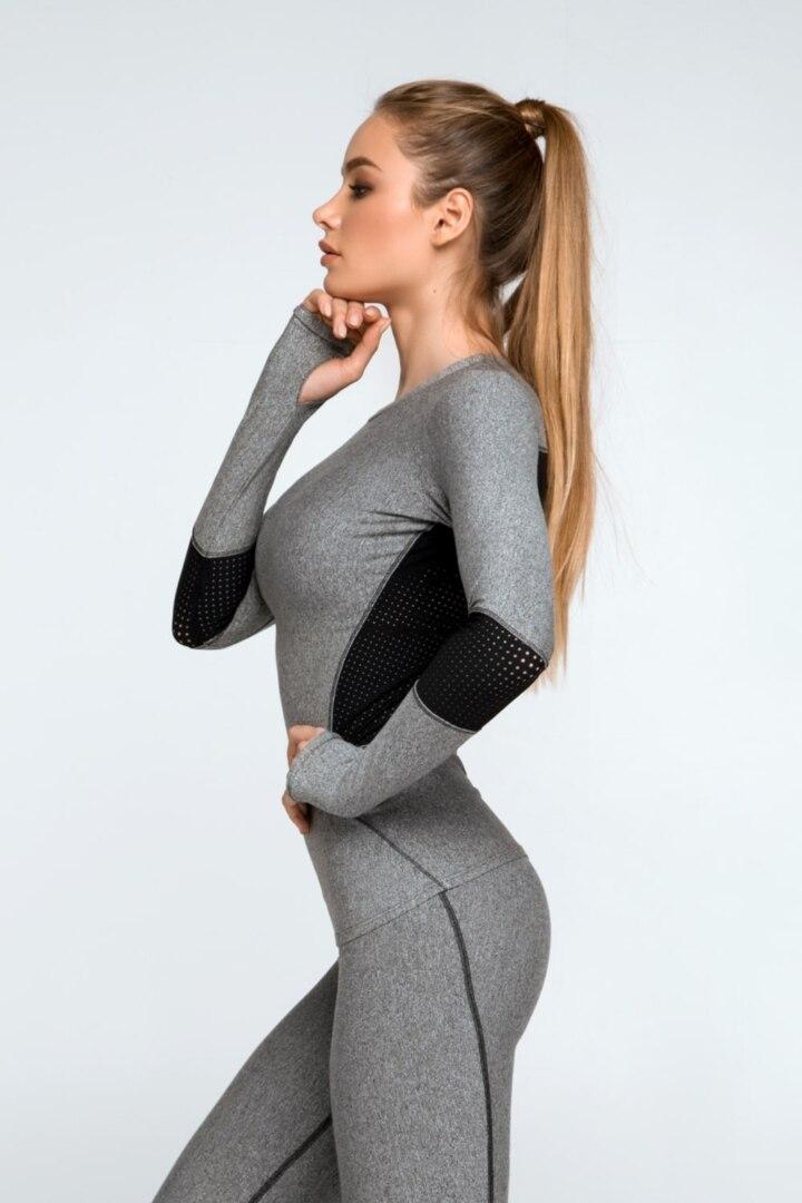 Женский рашгард, кофта для тренировок