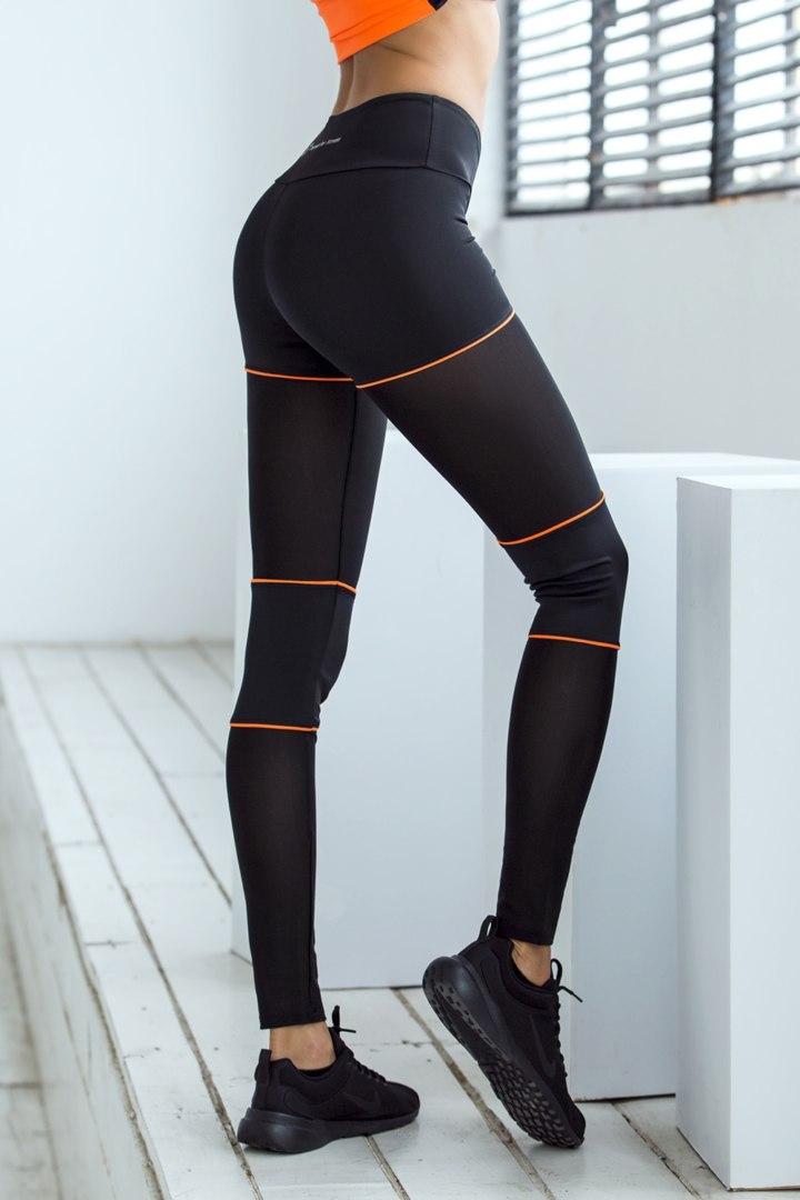 Лосины для спорта Sexy Shorts Orange