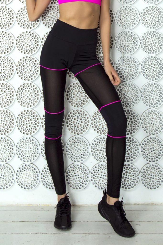 Лосины для спорта Sexy Shorts Pink