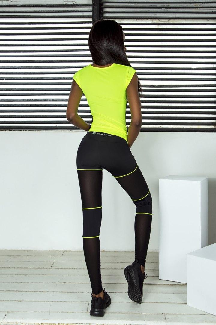 Комплект Sexy Shorts Lemon (Футболка и Леггинсы)