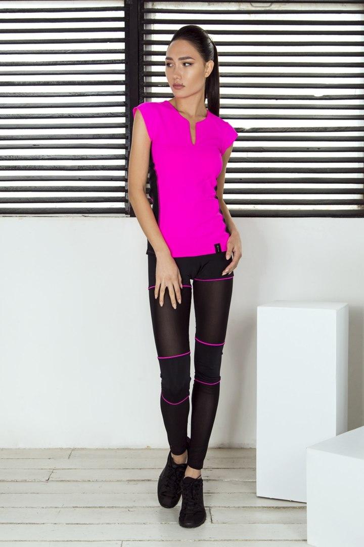 Комплект Sexy Shorts Pink (Футболка и Леггинсы)