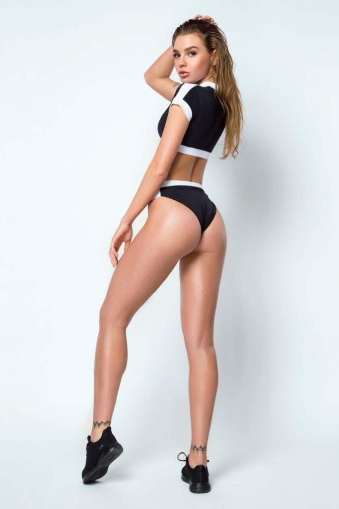 Раздельный купальник Surf Girl Black