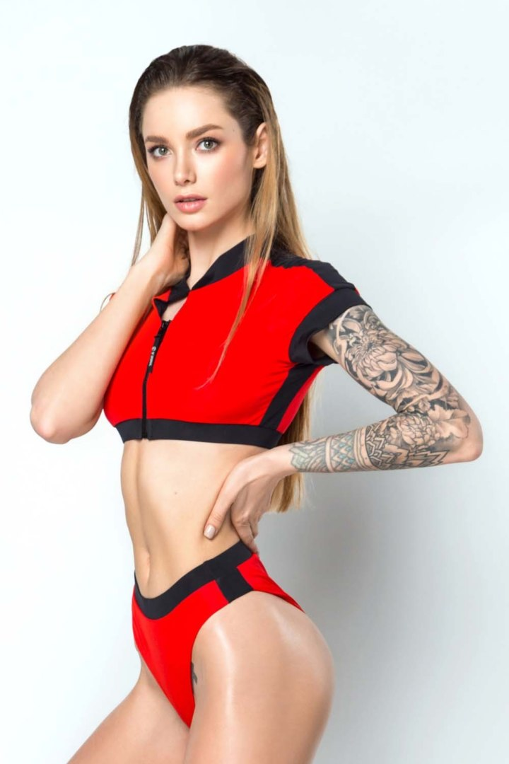 Топ Surf Girl Red