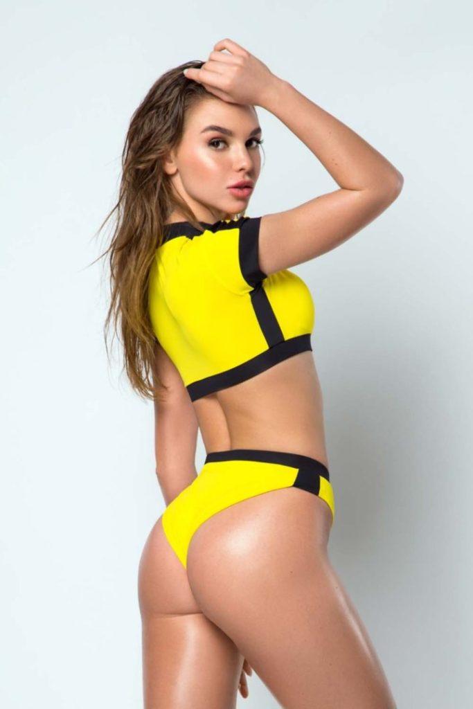 Купальник Топ Surf Girl Yellow