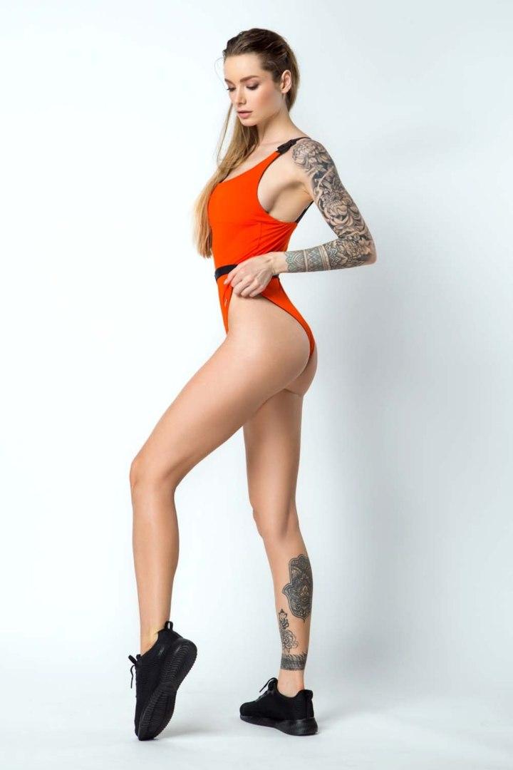 Купальник сдельный Bali Baby Orange