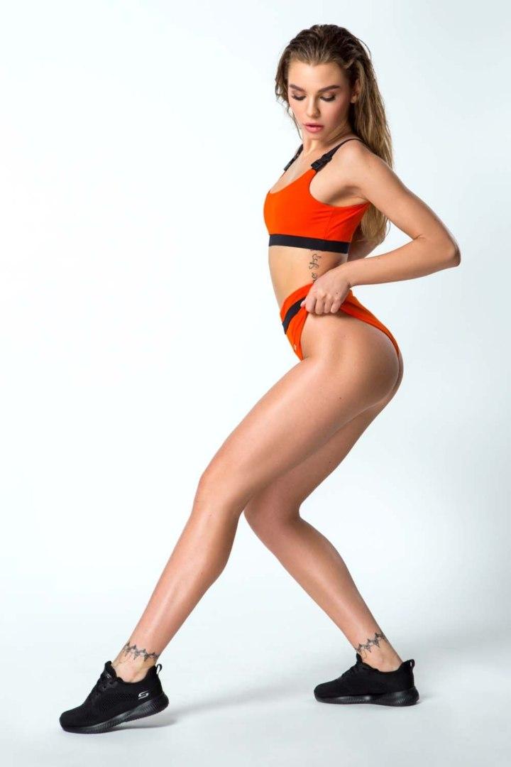 Раздельный купальник Bali Baby Orange