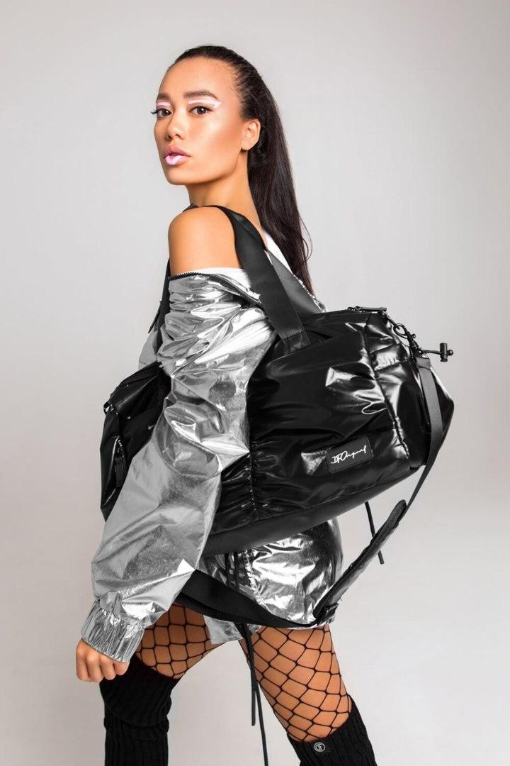 Спортивная сумка большая Black