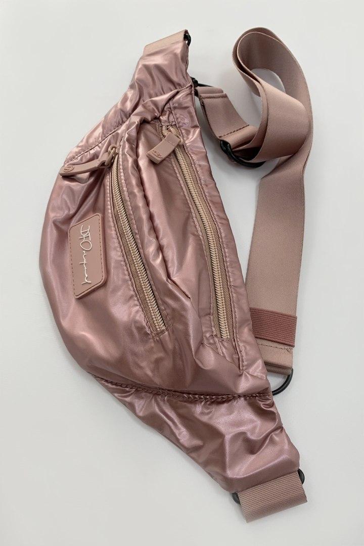 Поясная сумка Glossy Rose Gold