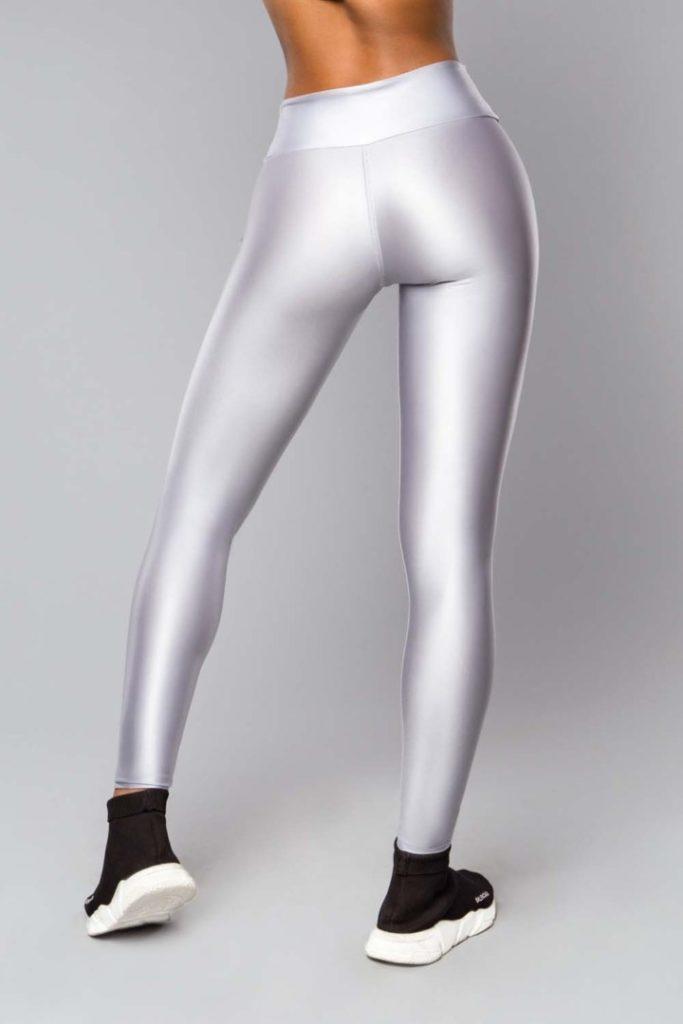 Женские Леггинсы Glossy Silver