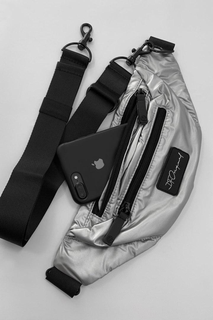 Поясная сумка Glossy Silver